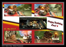 Happy Birthday, Zino by LeelaComstock