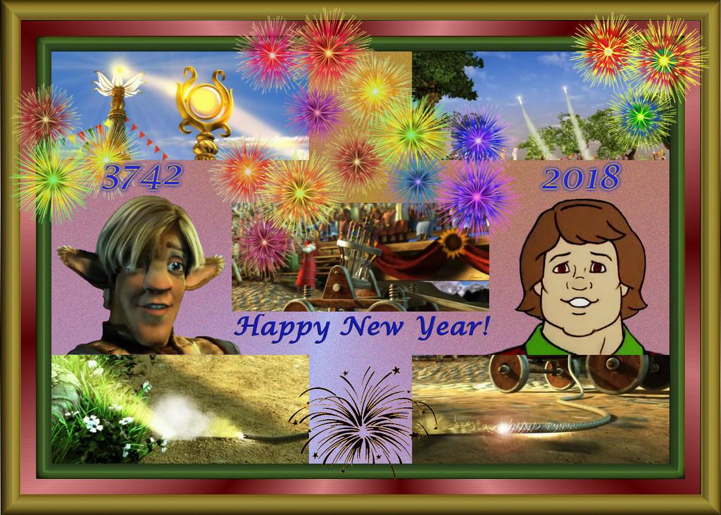 Happy New Year! by LeelaComstock