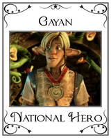 Shirt No.1 - Gayan National Hero by LeelaComstock