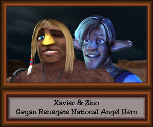 Gayan Renegate National Angel Hero by LeelaComstock