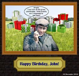 Happy Birthday, John! by LeelaComstock