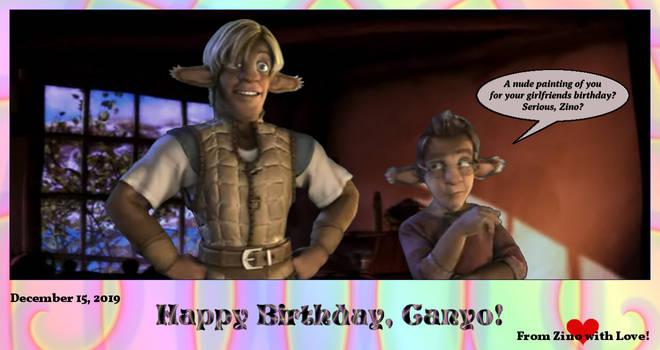 Happy Birthday, Canyo!