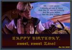 Happy Birthday, Zino!