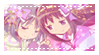 STAMP: Homura x Sayaka by Homullily