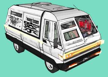 Police Van Concept