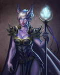 Draenei Mage from WoW