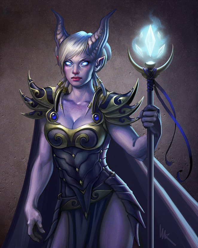Draenei Mage from WoW by ImagnosisDraenei Wow