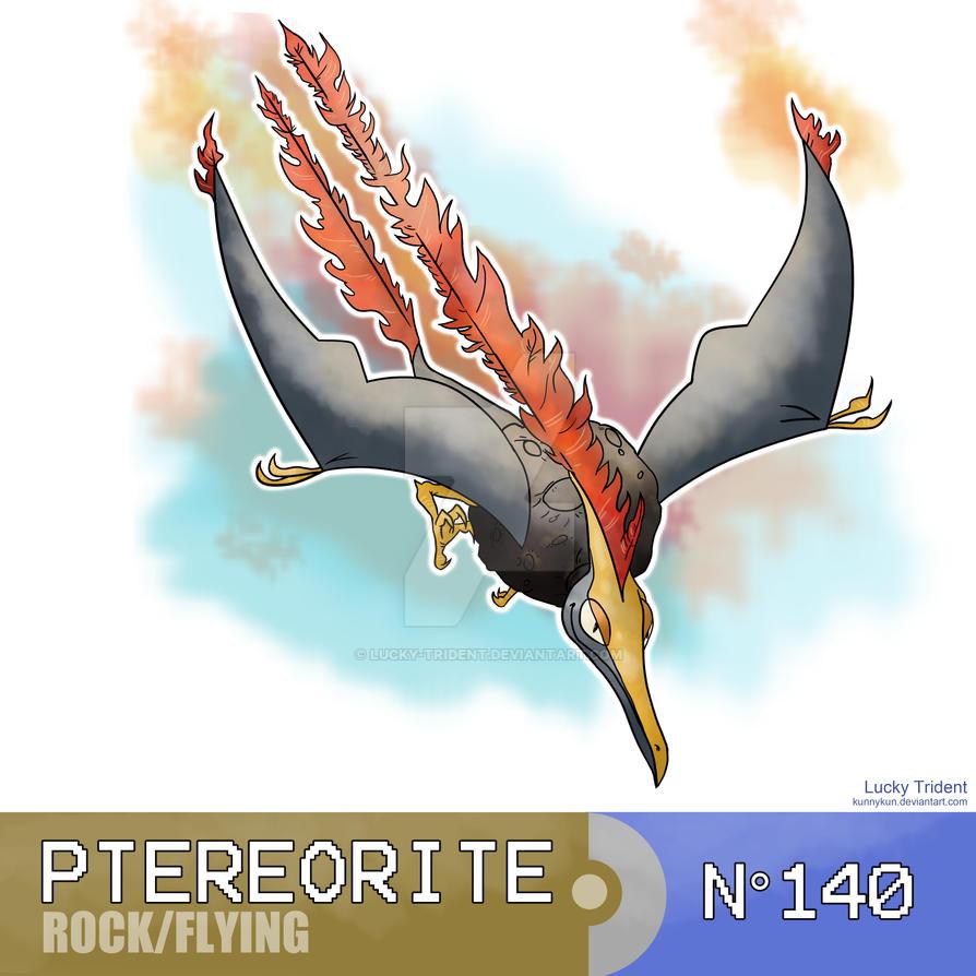 Le Topic à Flo' ~ BioWare - DanganRonpa - Page 3 Ptereorite__fossile_pokemon__by_lucky_trident-d9ebpgl