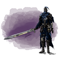 Hunter Artorias, the dream wanderer by Lucky-Trident