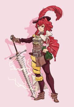 Anna - Fire Emblem - Mercenary Redesign