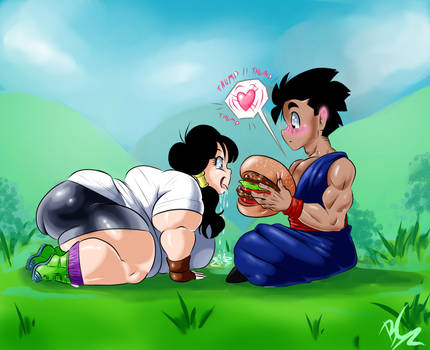 Hungry Videl
