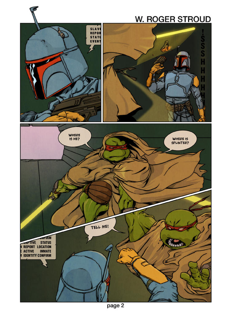 TMNT vs Star Wars page 2 by Destinopol