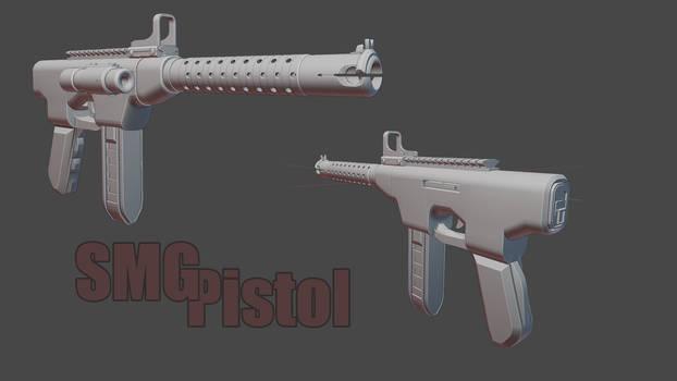 SMG Pistol