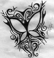 Tribal Butterfly by dyingresurection