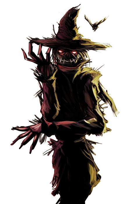 the scarecrow by helioart on deviantART