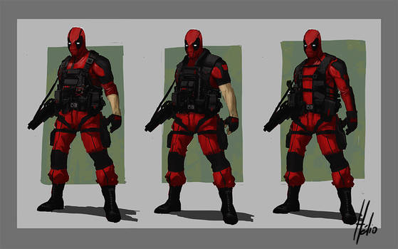 Deadpool Redesign