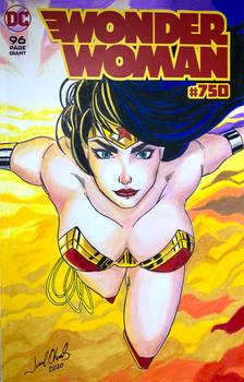 Wonder Woman #750 Blank Cover
