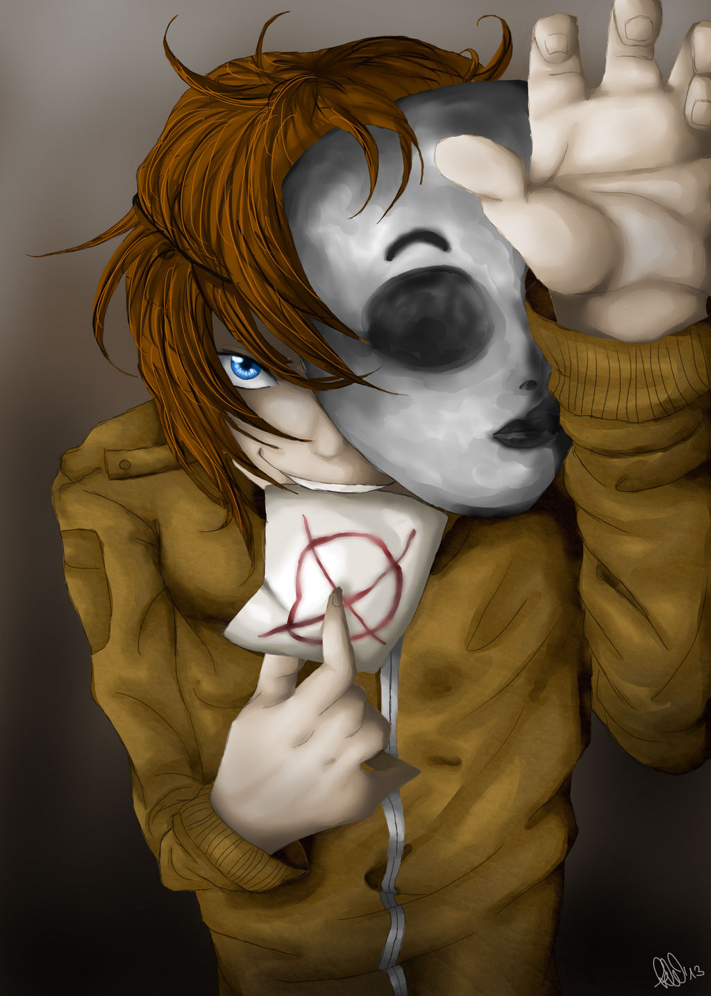 Creepypasta Hoodie X Masky