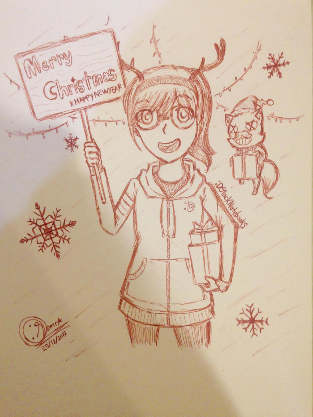 Merry_Christmas2017 by DStackNotebookS