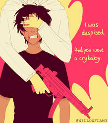 And you were a crybaby. (Devilman: Crybaby FanArt) by Willowflam3