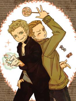 Balthazar and Gabriel