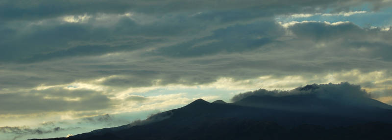 Etna and Clouds
