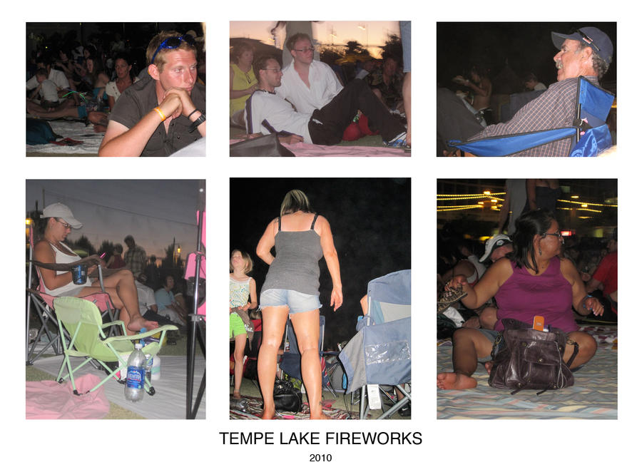 Tempe Fireworks by SyntheticPlatypus