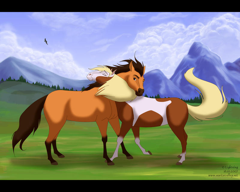 Spirit and rain by blayrd on deviantart - Comment dessiner spirit ...