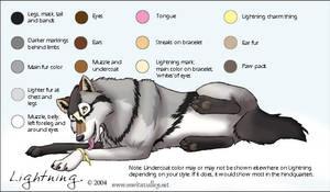 Lightning character sheet