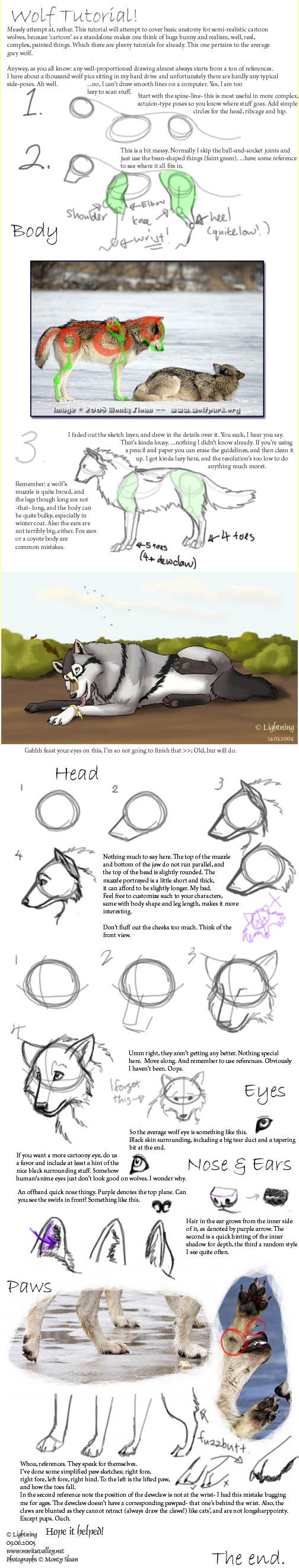 Wolf Tutorial by blayrd
