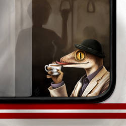 Teatime on Public Transport