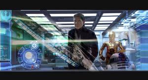 Starwars Nobody steals my ship!! by rocketman28