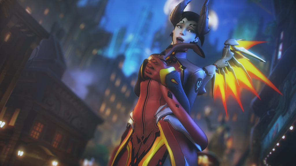 Mercy wallpaper by RedDoe