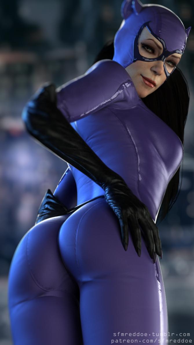 Catwoman ass