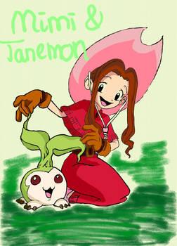 mimi and tanemon