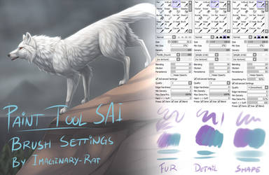 My Brush Settings by ImaginaryRat