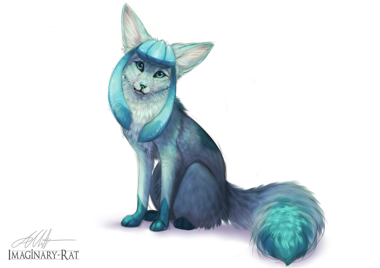 Eevee Week - Glaceon by Imaginary-Rat