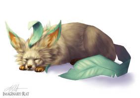 Eevee Week - Leafeon by ImaginaryRat