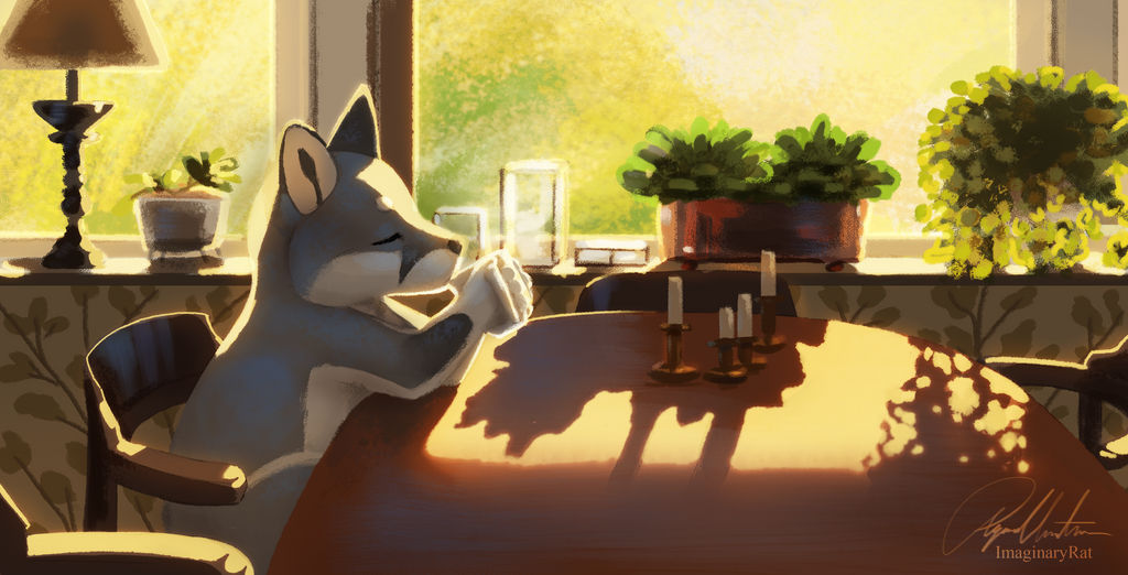 Morning Tea by ImaginaryRat
