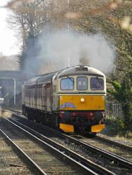Class 33 D6515 (33012), Port Sunlight (24/03/2019) by DaveOnTheRails