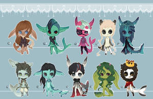 .:Snack Sharks Customs 3:. by Pietastic-Creations