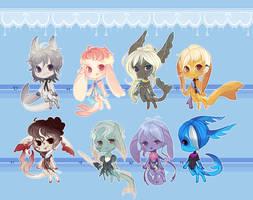 Munchin Gummi Sharks 1 .:Closed:. by Pietastic-Creations