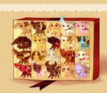 Box of Chocolate Gummi Pups .:Closed:.