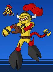 Taurus Man (Fan made MM Robot Masters) #1 by BLTspirit