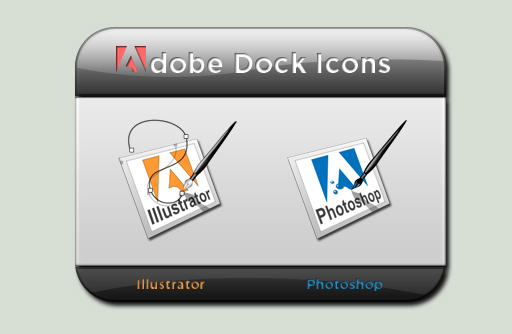 Adobe Dock Icons by MiG-05