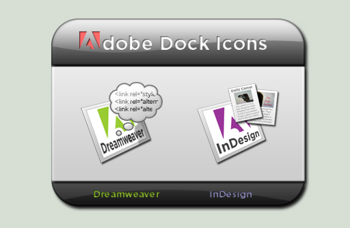 Adobe Dock Icons 2 by MiG-05