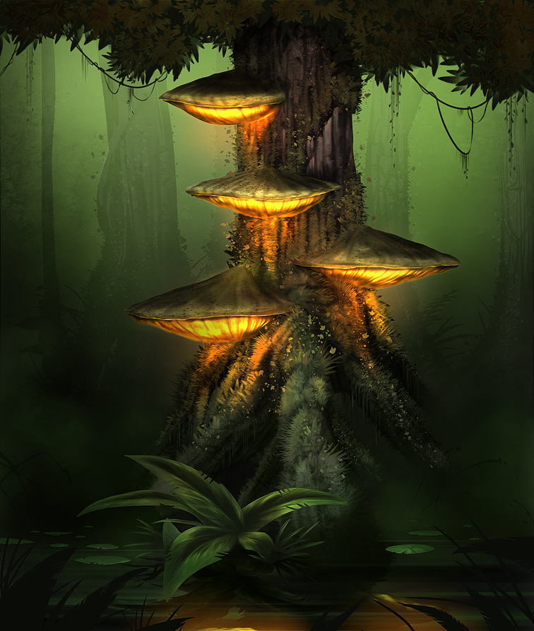 Fungal Swamp by MiG-05