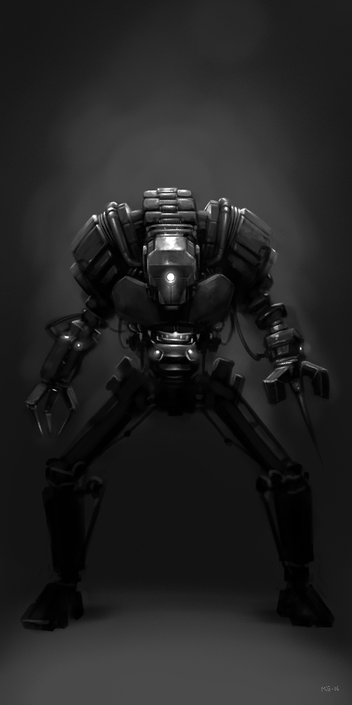Robot-PaintingPractice (again) by MiG-05