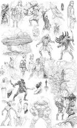 Dump of sketches again