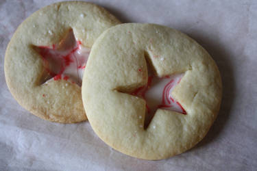 Peppermint Stained Glass Cookies